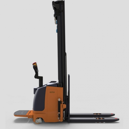 Electric high lifting height stacker