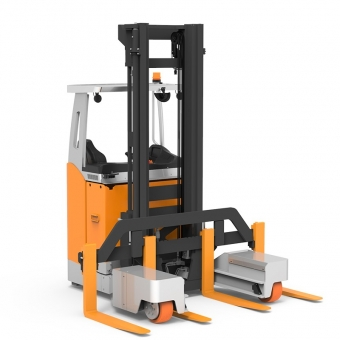 RSEW electric multi-directional forklift,side loader